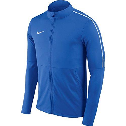 Nike Herren Dry Park 18 Trainingsjacke, Royal Blue/White, M (Royal Jacke Nike Blau)