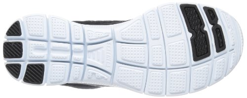 Skechers Flex Appeal Sweet Spot, Baskets mode femme Noir (Bkw)