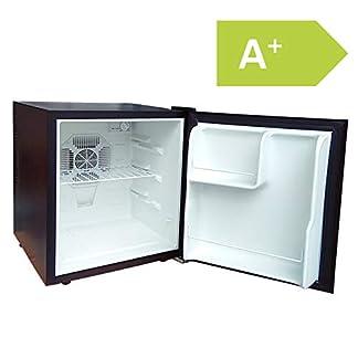 Acopino-BC50BLACK–Minikhlschrank–Minibar-Thermoelektrischer-Khlschrank–schwarz–LED-Beleuchtung–48L