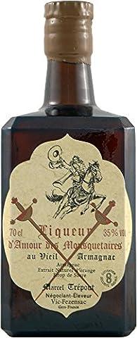 Liqueur d'Amour des Mousquetaires Vieille Liqueur d'Armagnac Sers France, 70 cl