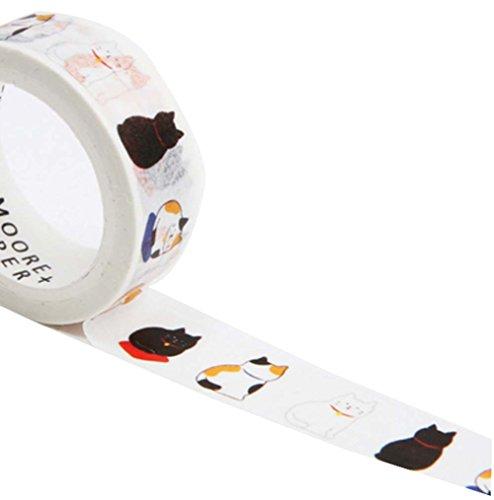 Frisches süßes dekoratives Klebeband mit Karikatur-Katzen-Muster, Satz von 3 (Band Name Generator)