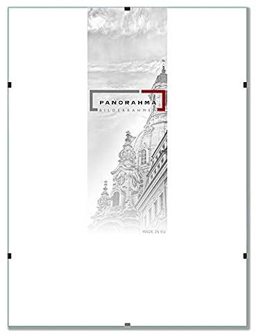 Bilderrahmen rahmenlos Glasbilderrahmen, Bildformat: 29,7 x 42 cm (DIN A3), Normalglas