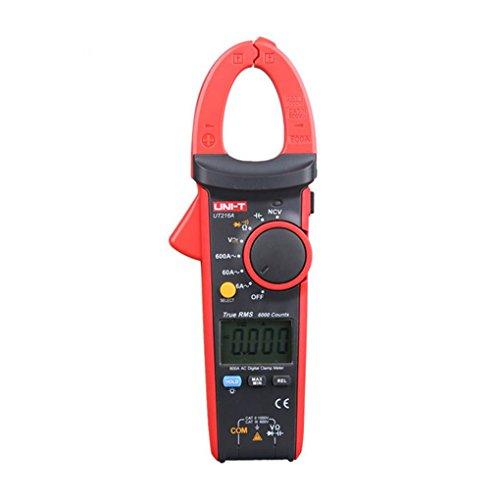 UNI-T UT216A 600A Digitale Clamp Meter DC Strom NCV Tester V.F.C Diode LCD-Display-Arbeits-Licht Multimeter Topker Vf-lcd