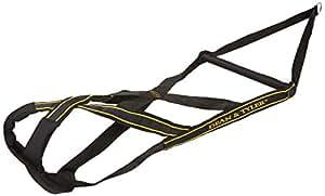 Dean et Tyler en nylon Poids Harnais de traction, Noir, Medium–Tête jusqu'à 68,6cm
