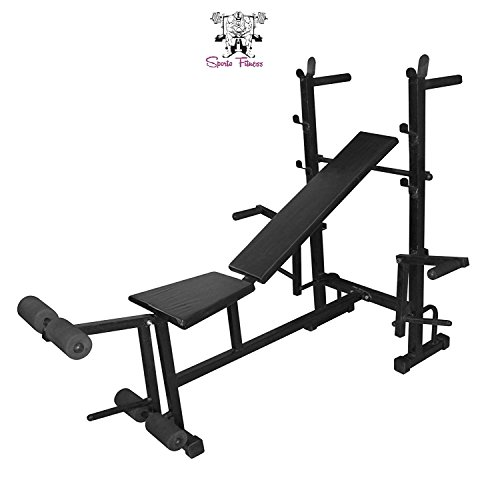 SPORTO FITNESS™ 8-In-1 Blend Multi Bench For Home Gym