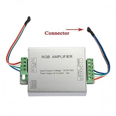 Big Bargain RGB SMD 5050 LED-Streifen Licht-Signal-Verstärker 12V 12A von Big Bargain bei Lampenhans.de