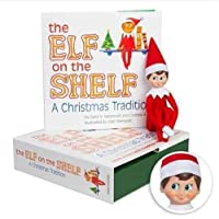 The Elf on the Shelf: Una tradición navideña (Incluye tono de piel claro chico Elf y un libro especial en Inglés )