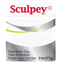 Sculpey III sculpwhite - Producto de escultura, color blanco