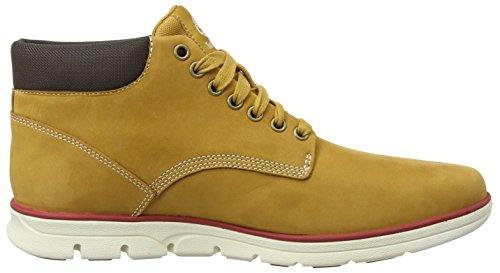 Timberland Chukka Leather, Scarpe a Collo Alto Uomo Giallo