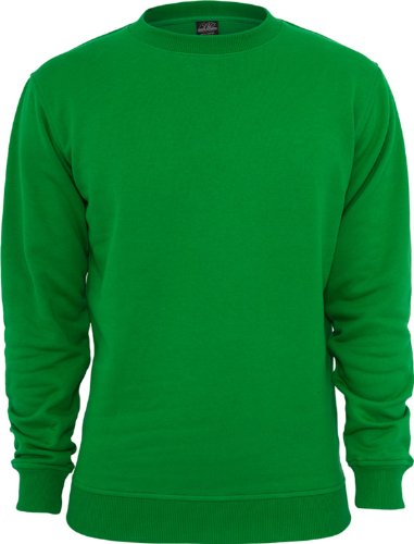 Urban Classics Herren Sweatshirt Crewneck Sweater c.green