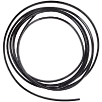 luview swseed forma Kingzer 4m u Air Vent Car Grille Interruptor Rim Calandra cromado Moldura, Negro