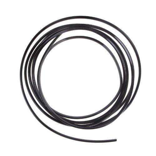 Gitter-streifen (Kingzer 4m U Form Air Vent KFZ Gitter Schalter Rand Gitter Chrom Streifen Zierleiste schwarz)