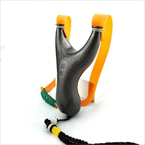 Human Slingshot Gummiband Zinklegierung Slingshot Im Freien Sportlich Metall Schleuder (Kaufen Sie Einen, Um Einen Zu Geben)