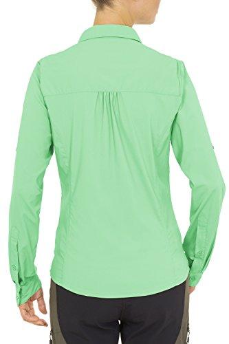 VAUDE Damen Bluse Women's Farley Long Sleeve Shirt May Green