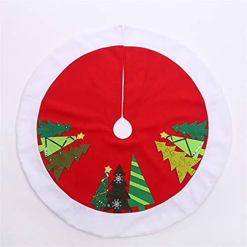 Falda del árbol de Navidad Faldas Del Árbol De Navidad Alrededor ...