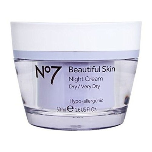No7 Boots Beautiful Skin Night Cream for Dry/Very Dry 50ml by No7 -