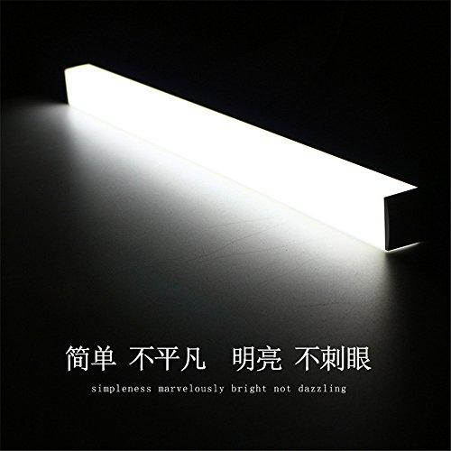 JJZHG Wandleuchte Wandlampe Wasserdicht Wandbeleuchtung Spiegelleuchte LED-Spiegelscheinwerfer Bad Bad Wandverkleidung Kosmetikspiegelschrank WC-Spiegelleuchte,50cm beinhaltet: Wandlampe (Wandverkleidungen Für Bäder)