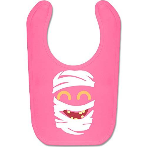 Shirtracer Karneval und Fasching Baby - Mumie Karneval Kostüm - Unisize - Pink - BZ12 - Baby Lätzchen Baumwolle