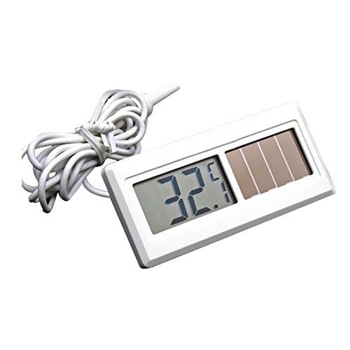 Solarbetrieben Wasserdicht Digital Solar Thermometer Mit Solarzellen