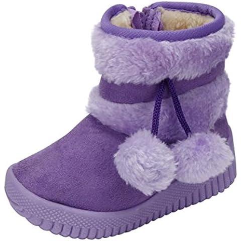 Vovotrade Botas de nieve caliente de algodón para bebés