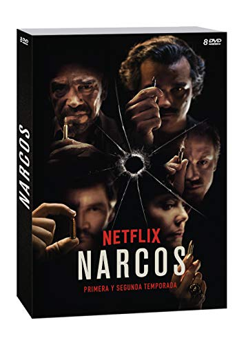 Pack: Narcos 1 + Narcos 2 (8 DVDs)