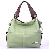 Vintage Shoulder Bag for Women - Olive