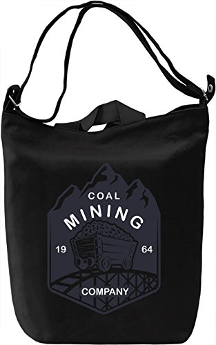 Mining Leinwand Tagestasche Canvas Day Bag| 100% Premium Cotton Canvas| DTG Printing|