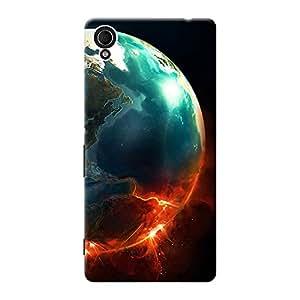 Mobile Back Cover For Sony Xperia M4 Aqua Dual (Printed Designer Case)