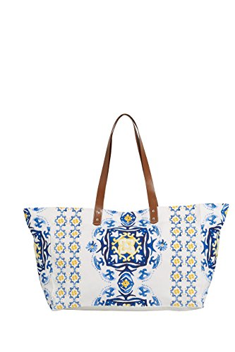 next Donna Shopper Stampa Blu