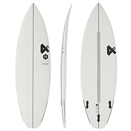Fourth Surfboards Fivenine ESE Construction FCS II 3 Fin Surfboard 6ft3 White/Black
