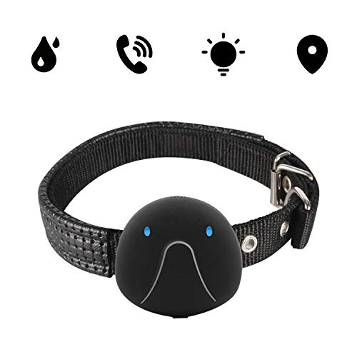 OOPPEN Localizador GPS para Perros Perros y Gatos, Localizador Anti-Perdida Anti-Robo de...