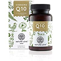 Nature Love - Coenzima Q10 con 200mg por cápsula. 120 cápsulas en una caja dura