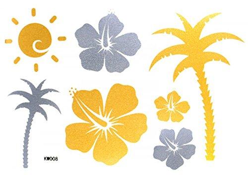 Autocollants Fleur Soleil