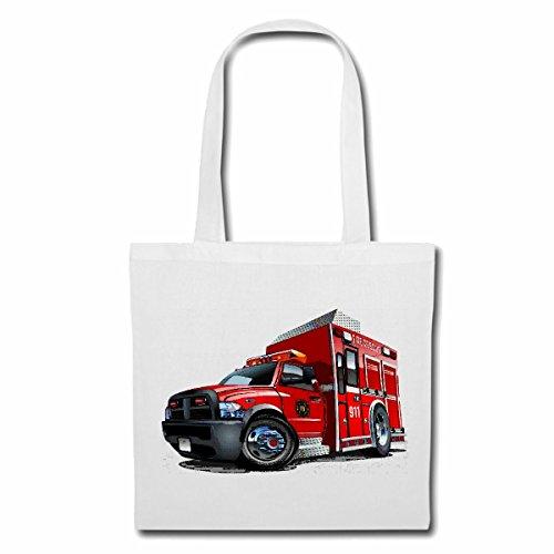 Tasche Umhängetasche FIRE Rescue KRANKENWAGEN Rettungswagen Feuerwehr Truck LÖSCHFAHRZEUG EINSATZFAHRZEUG FREIWILLIGE Feuerwehr BERUFSFEUERWEHR FEUERWEHRMANN Feuerwehrfrau FIRE Department USA AMERIK