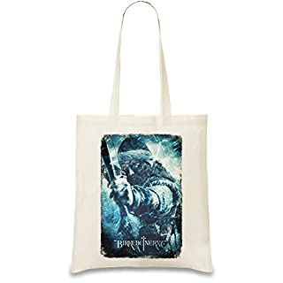 Der letzte König Aslak - The Last King Aslak Custom Printed Tote Bag| 100% Soft Cotton| Natural Color & Eco-Friendly| Unique, Re-Usable & Stylish Handbag For Every Day Use| Custom Shoulder Bags By