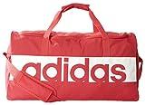 adidas Erwachsene Linear Performance M Team-Tasche, Core Pink/Vista Grey/White, 22 x 30 x 57 cm