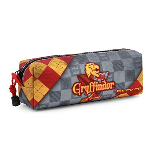 Harry Potter Quidditch Gryffindor Estuches, 22 cm, Rojo