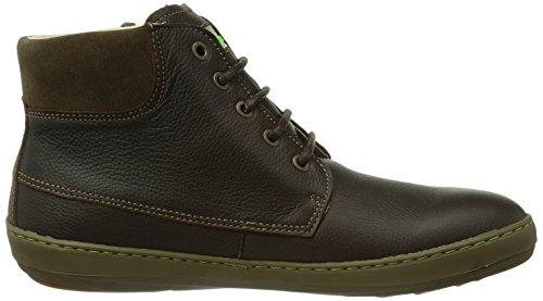 El Naturalista N209 Grain Black-Egeo / Meteo, Chaussures de ville homme Marron