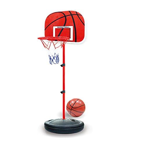 MRKE Basketballkorb Kinder, 63-150 cm Kinder Basketballständer Verstellbar Basketball Korb Spiel Set Kinder Geschenk (Spiele-geschenk-korb)