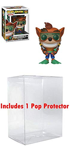 FunkoPOP Crash Bandicoot: Crash Bandicoot Scuba Gear & 1 Pop Protector