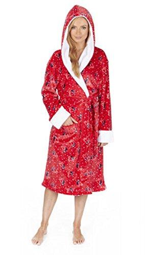 Da donna in pile abito Red Robin - Big Hood