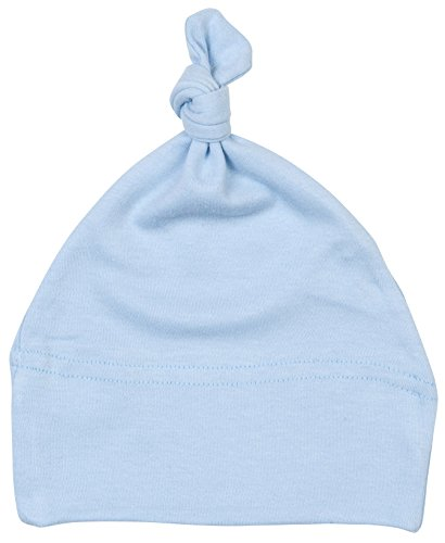 Baby One Knot Plain Coloured Hat - Dusty Blue -
