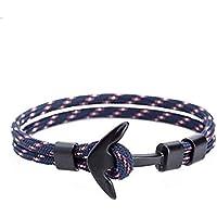 Li-an-ca Anker männlichen und weiblichen Armband Polyester Seil Armband