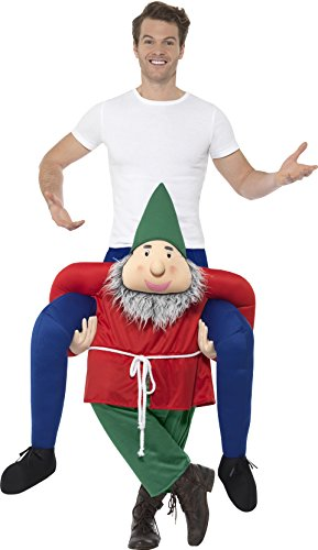 Imagen de smiffy 's–disfraz de gnomo de 48818piggyback, verde, un tamaño