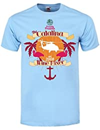 Grindstore The Catalina Wine Mixer Light Blue Men's T-Shirt