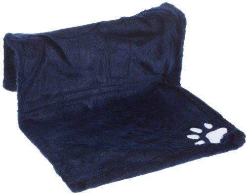Kerbl Katzenhängematte PARADIES dunkelblau, klein, 45 x 30 cm