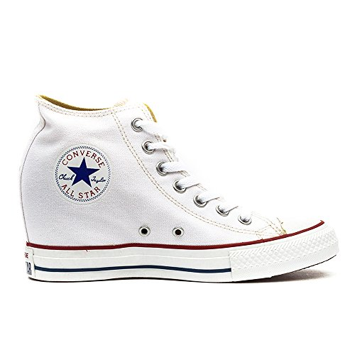 547200c Converse Unisex Adulto Sneakers Bianco PWaFWR