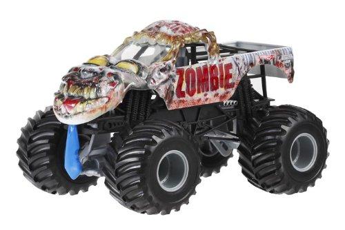 Hot Wheels CBY61 - Off-Road Monster Jam BGH24-0718 Zombie 1:24 Monster Jam-trucks Spielzeug