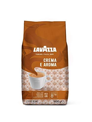 Lavazza Kaffeebohnen, Caffè Crema e Aroma , 1er Pack (1 x 1 kg)