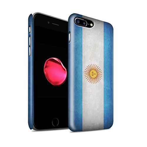 Clipser Matte Coque de Stuff4 / Coque pour Apple iPhone 5/5S / Chili/Chiliean Design / Drapeau Collection Argentine/argentin